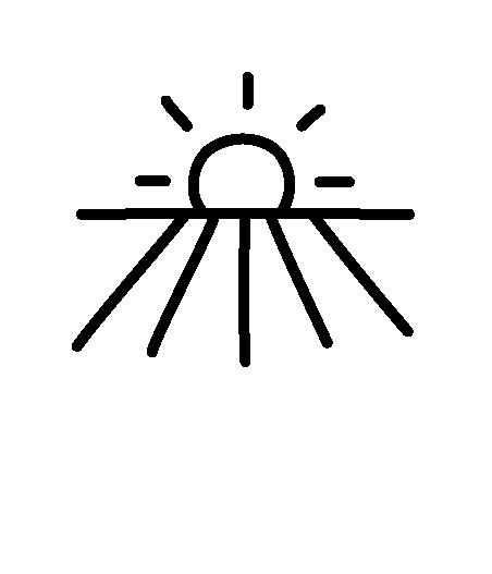 Icon Sonnenaufgang am Feld